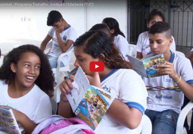 Vídeo Institucional – Programa Trabalho, Justiça e Cidadania (TJC)