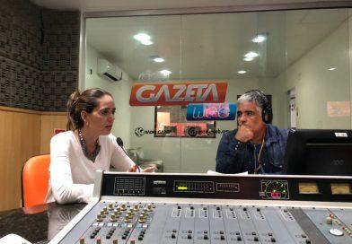 Juíza Adriana Oliveira fala sobre o TJC na TV Assembleia e na rádio Gazeta