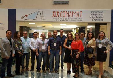 Juízes de AL participam do 19º CONAMAT em Belo Horizonte (MG)