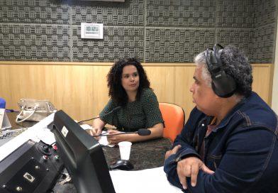 Kassandra Carvalho fala sobre trabalho infantil na rádio Gazeta AM