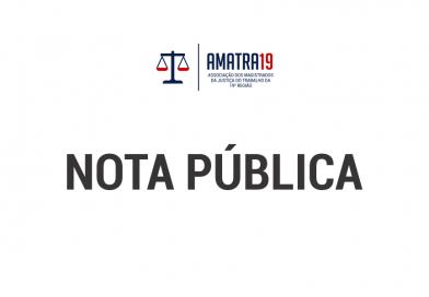 Nota associativa – Amatra 19