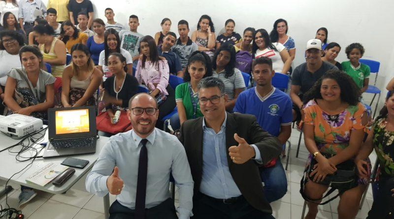 Projeto Trabalho, Justiça e Cidadania AMATRA19 vai até jovens da Escola Pio X