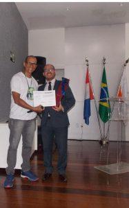 Presidente da AMATRA19 Nilton Beltrão palestra para profissionais da saúde no SENAC