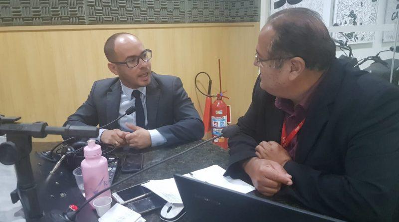 Presidente da AMATRA19 fala sobre o programa TJC na Gazeta AM