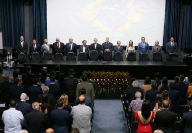 Associados da AMATRA 19 participam de posse de diretores da Almagis