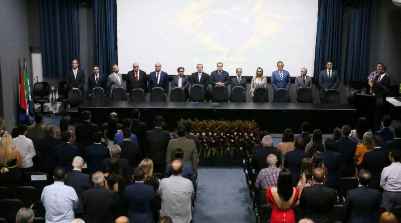 Associados da AMATRA 19 participam de posse na Almagis