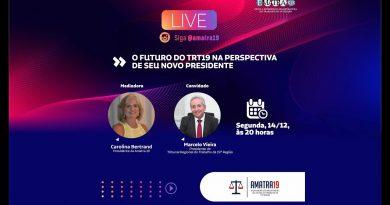 O FUTURO DO TRT AL NA VISÃO DE SEU PRESIDENTE AMATRA 19
