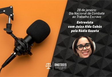 Juíza do Trabalho Alda Barros Araujo Cabús participa de programa na Gazeta AM