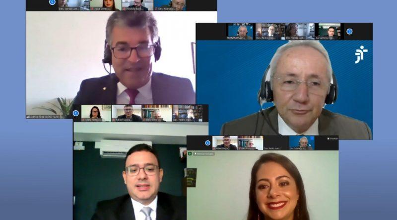 Vice-presidente da Amatra 19 participa de posse dos juízes Vanessa Villanova e Antonio Carlos Campos no TRT/AL