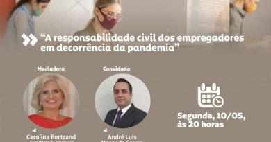 LIVE: A responsabilidade civil dos empregadores em decorrência da pandemia