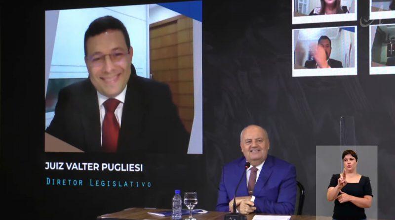 Juiz Valter Pugliese, do TRT/AL, toma posse como diretor da Anamatra