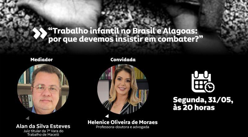 Trabalho infantil no Brasil e Alagoas:por que devemos insistir em combater?